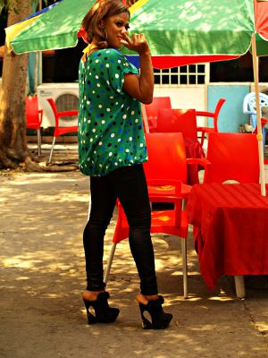 Una chica de Kinshasa