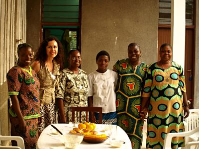 Las monjas confeccionistas de Kinshasa