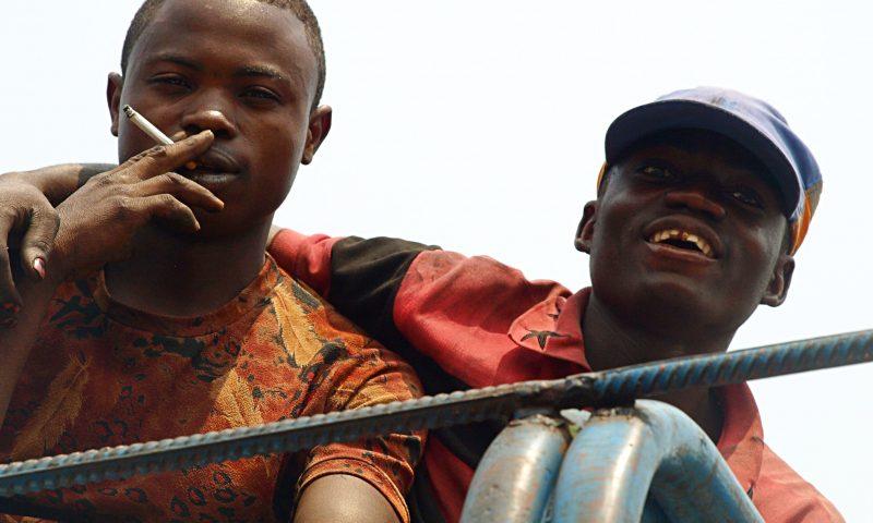 Dos chicos del Congo