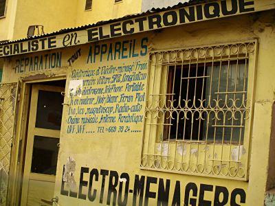 Una tienda en el Congo
