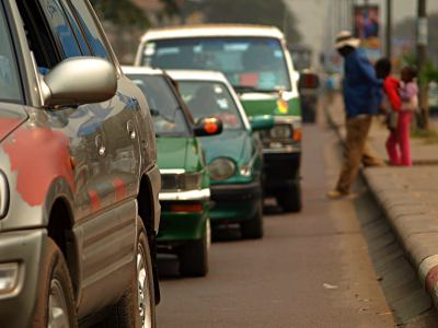 Las calles de Brazzaville