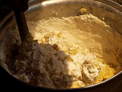 Alimento tradicional del Congo Kinshasa