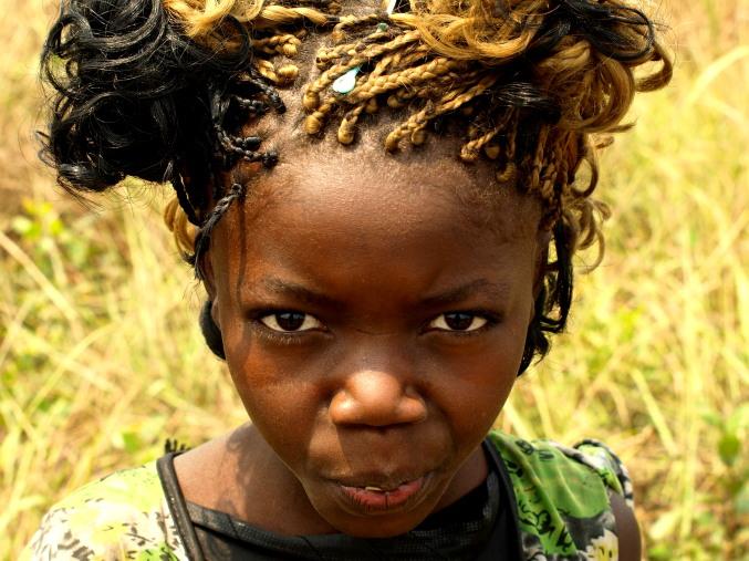 Una niña de Plateau