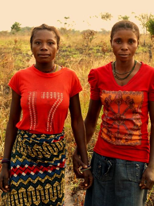 Dos chicas de Plateau