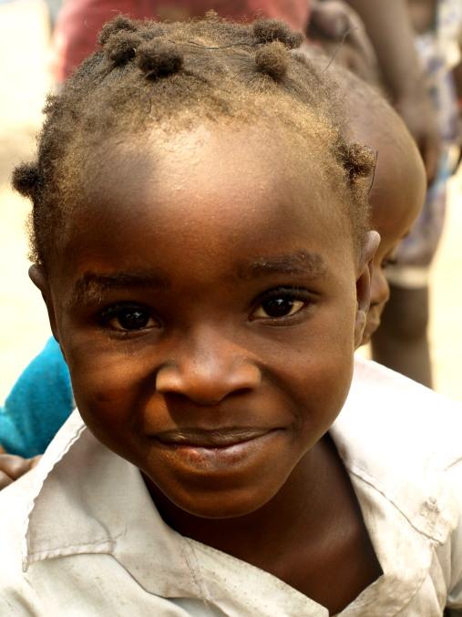 Uno de los niños de Plateau