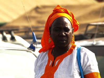 Una mujer de Senegal