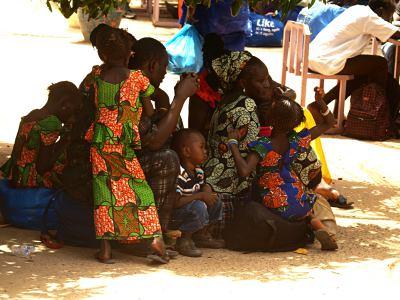 Mujeres en Gambia