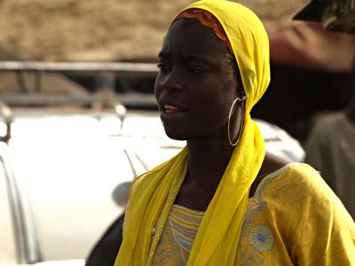 Chica en la Grand Routier Senegal