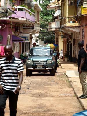 Una imagen de Bissau