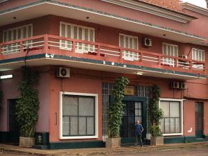 El hotel Coimbra en Bissau