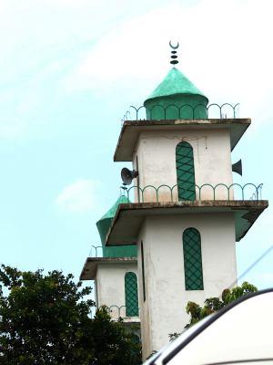 Una mezquita en Bissau