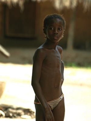 Una niña en Bissau