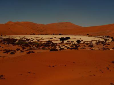 Lagos de sal en el Desierto de Namib