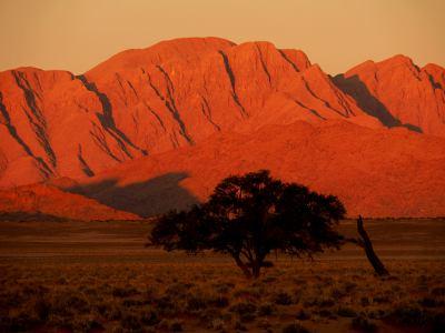 El Desierto de Namib y sus montañas