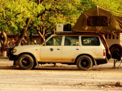 Durmiendo en los campamentos de Ethosa