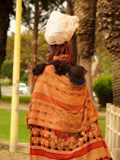 Una mujer Himba