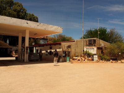 Gasolinera de el Solitaire