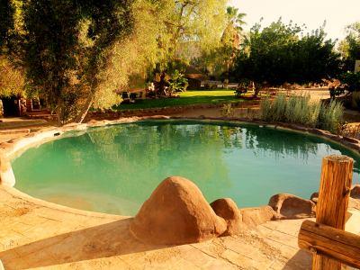 La piscina de la granja