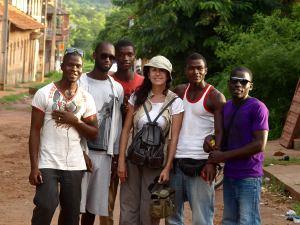 Mis nuevos amigos de Guinea Conakry