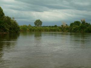 El río Gambia a su paso por Kédougou
