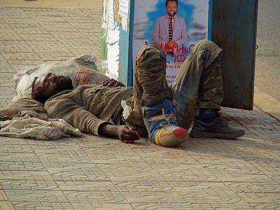 Addis Abeba tiene la pobreza más insultante