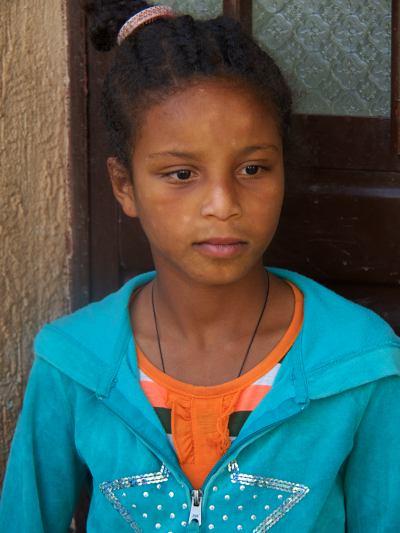Los niños que viven con Sindu