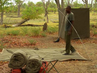 Levantando el campamento