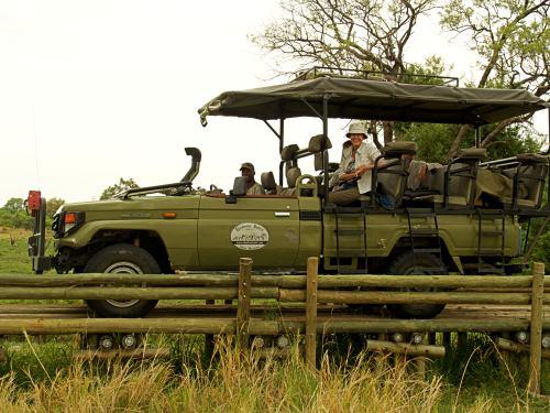 Nuestro coche de safari