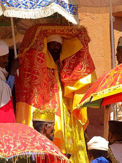 Una celebración ortodoxa en Etiopia