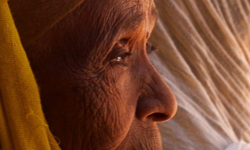 Anciana en LaLibela