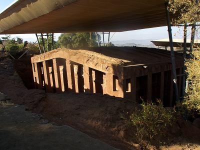 Iglesia excavada en LaLibela