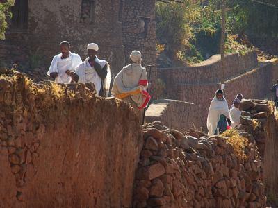 La gente de Lalibela