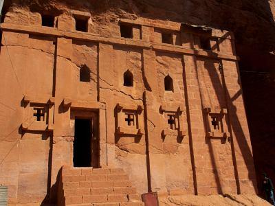 Maravillosas iglesias excavadas de Lalibela