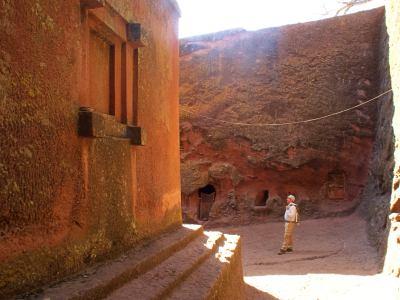 Paseando por las iglesias de Lalibela