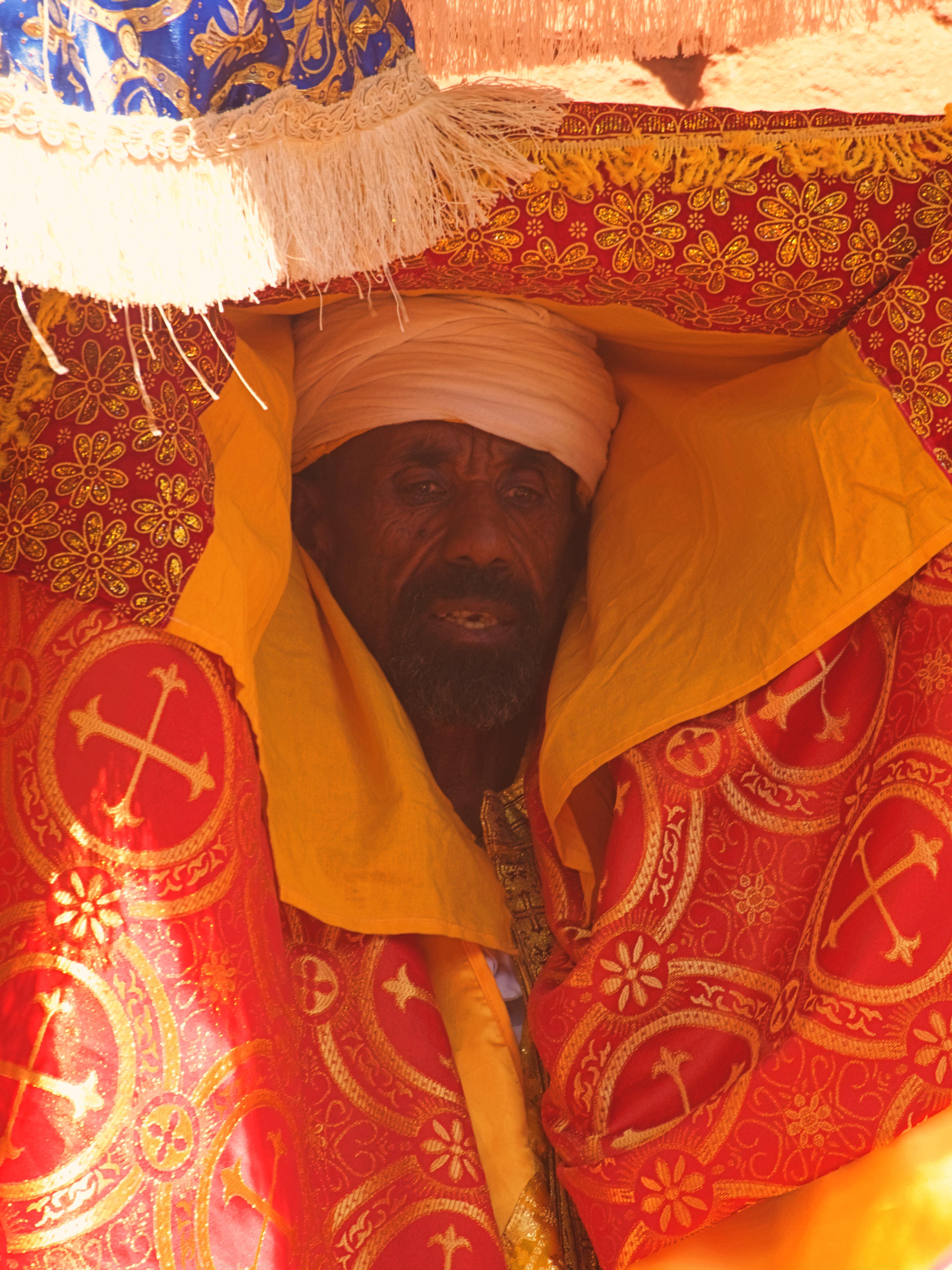 Un sacerdote ortodoxo en LaLibela