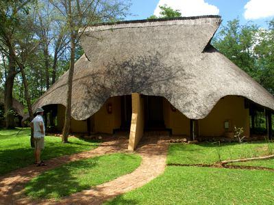 Lodge en las Victoria Falls