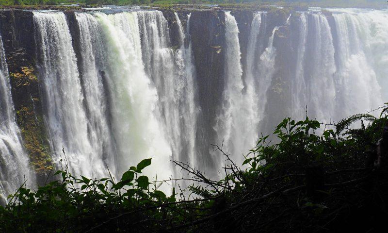 Las Cataratas Victoria en Zimbabue