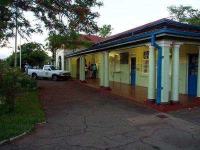 La estación de ferrocarril de Victoria Falls