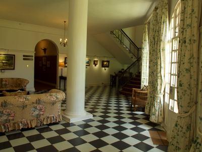 Interiores del Victoria Falls Hotel