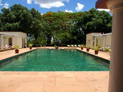 Piscina del Victoria Falls Hotel