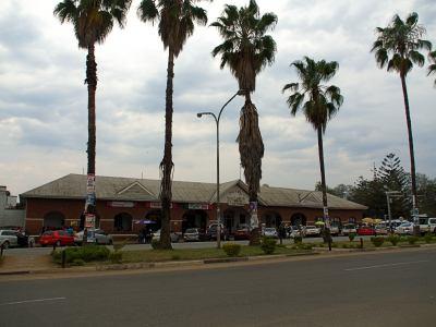 El hotel colonial de Masvingo