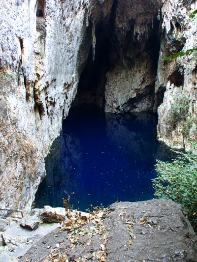Las piscinas de Chinhoyi Caves National Park