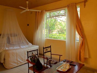 Nuestra habitación en Chinhoyi Caves National Park
