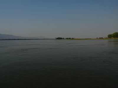 El río Zambeze en Mana Pools