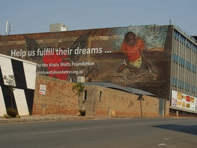 Una esquina de Johannesburg