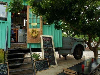Un cafe de Johanesburgo en pleno Maboneng