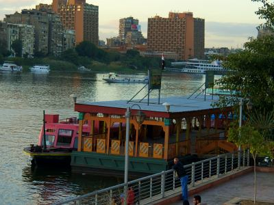 El Nilo la referencia de El Cairo
