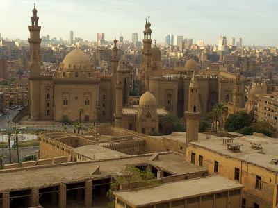 Vista de la ciudad desde la Ciudadela de El Cairo