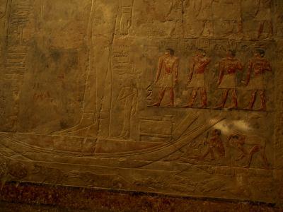 Interior de las Pirámides de Saqqara y Giza