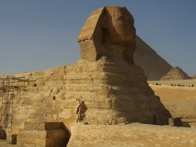 La gran Esfinge de Gizeh